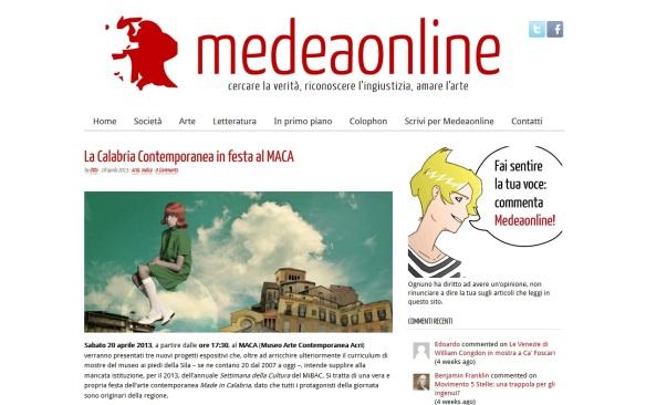 MedeaOnline
