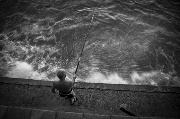 Gregorio Paone, Pescatore